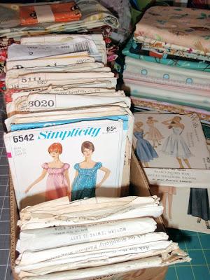 vintage sewing patterns, Simplicity 6542