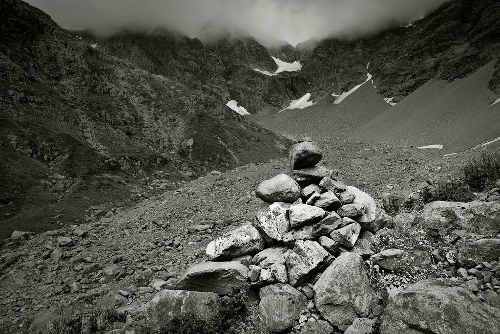 Cairn, Otira valley
