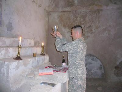 Catholic Chaplain Offers Mass in Iraqi Monastery - Taylor