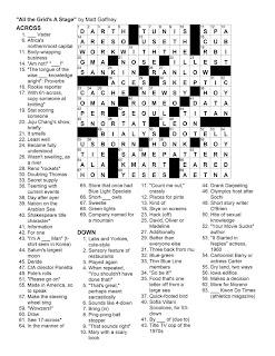Matt Gaffney's Weekly Crossword Contest: MGWCC #102