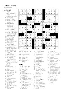 Matt Gaffney's Weekly Crossword Contest: December 2008