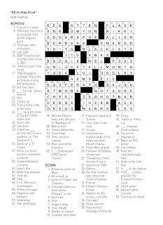 Matt Gaffney's Weekly Crossword Contest: MGWCC #075
