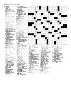 Matt Gaffney's Weekly Crossword Contest: January 2010