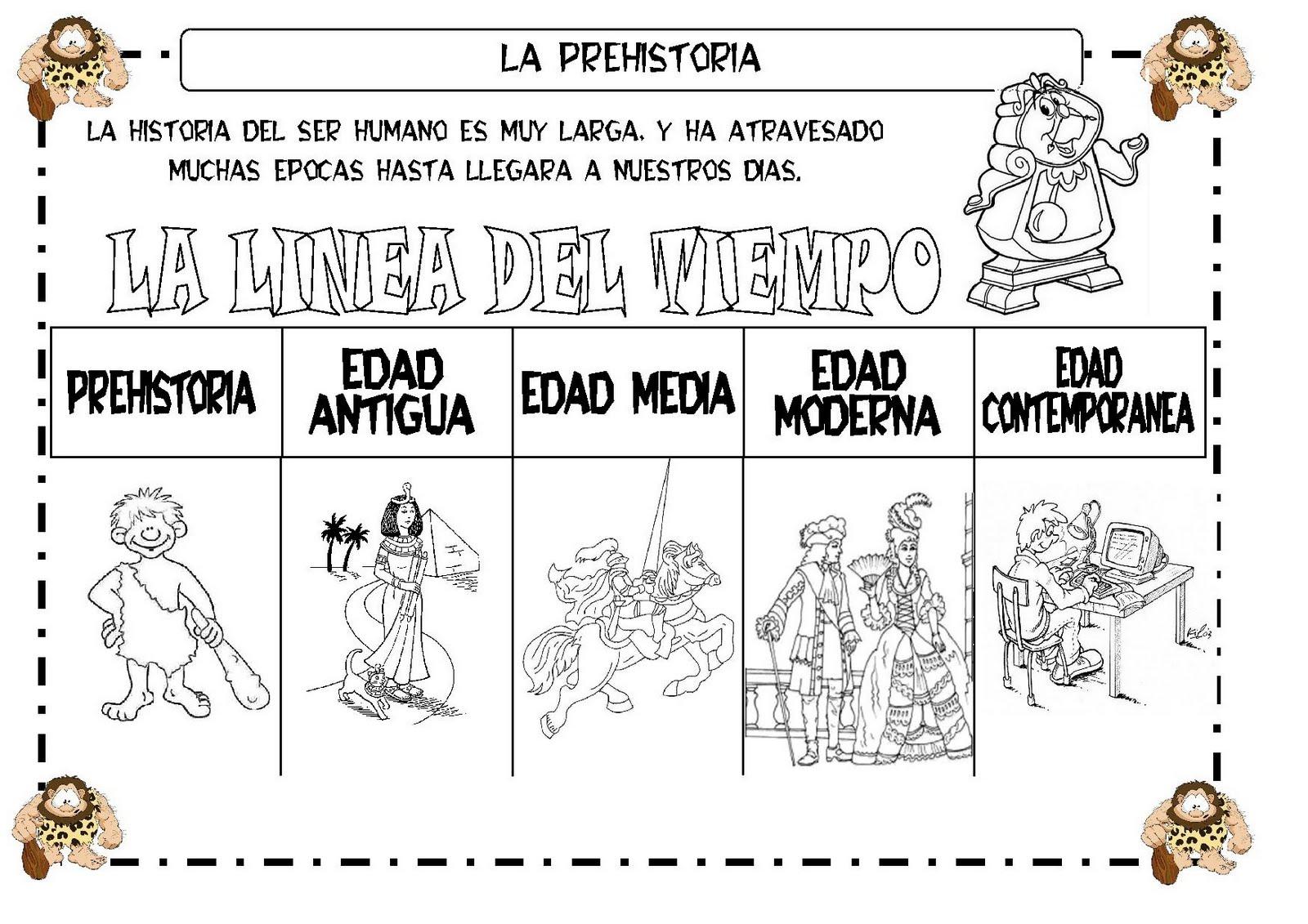Learning is fun fichas sobre la prehistoria for Concepto de familia pdf
