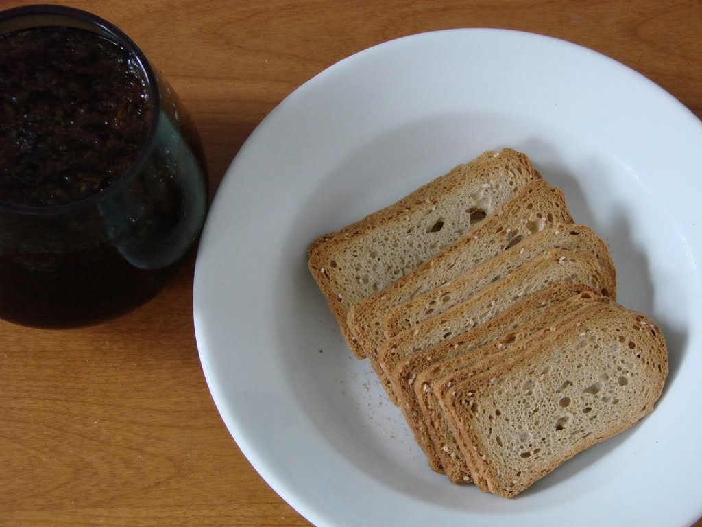 Astounded by the Potential: Dr Pepper and Melba Toast