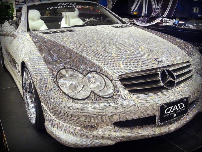 Diamond Encrusted Car: Queenie Valentine: Ice Out Errything