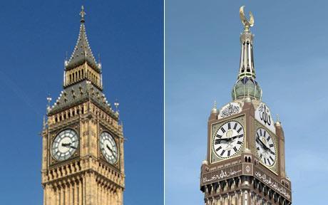 Mecca Clock Seeking Scientific Prestige Via Borrowed