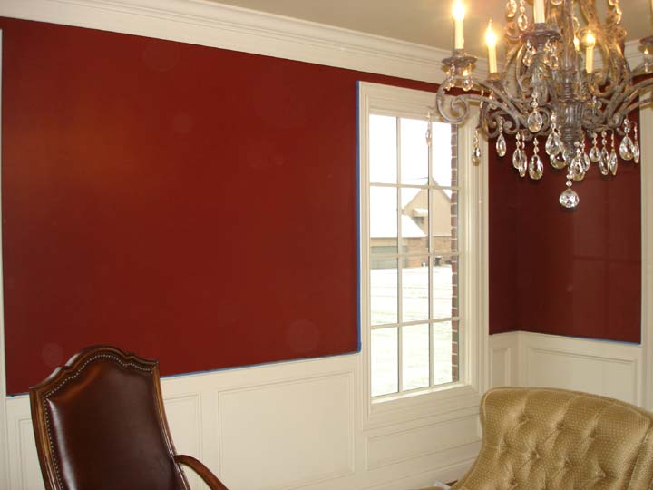 great paint for great homes: paint it red!