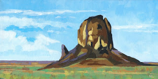 Arizona bute daily painting