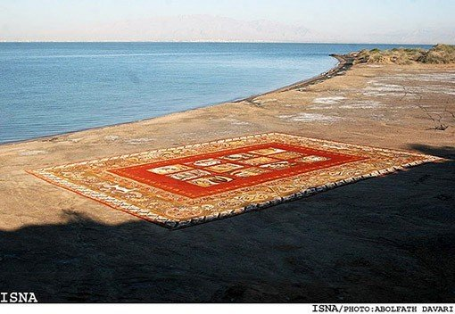 World's largest sand carpet: 13Pics