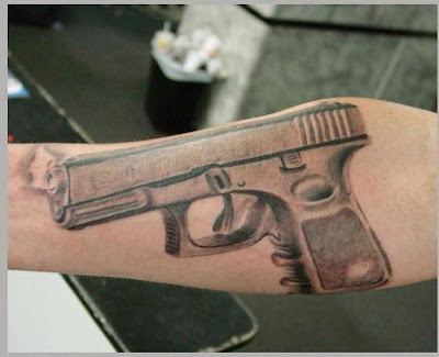 gun tattoos designs