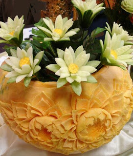 vegetable art carving