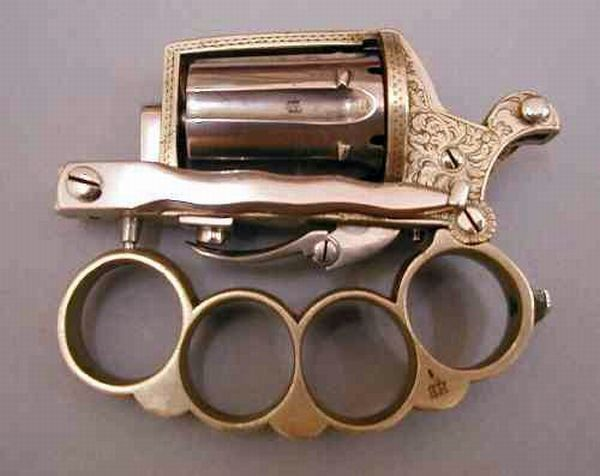 Different types of brass knuckles: 32