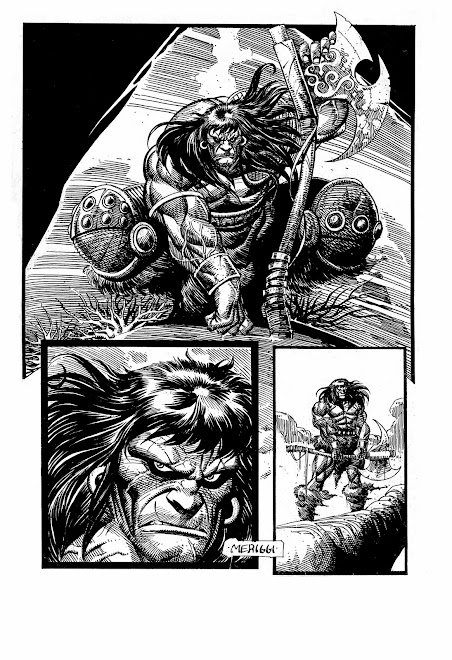 CONAN THE BARBARIAN: PENCIL AND INK MERIGGI