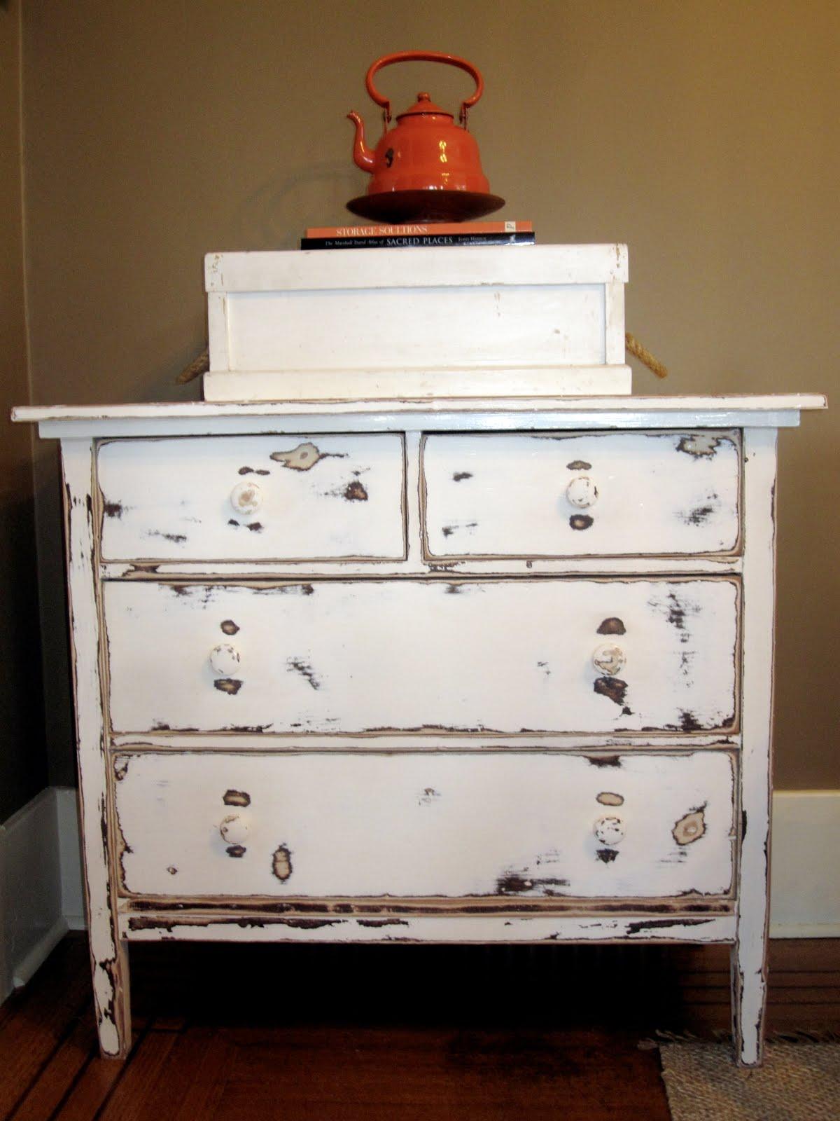 Sweet Tree Furniture: Rustic Farmhouse Lowboy Dresser