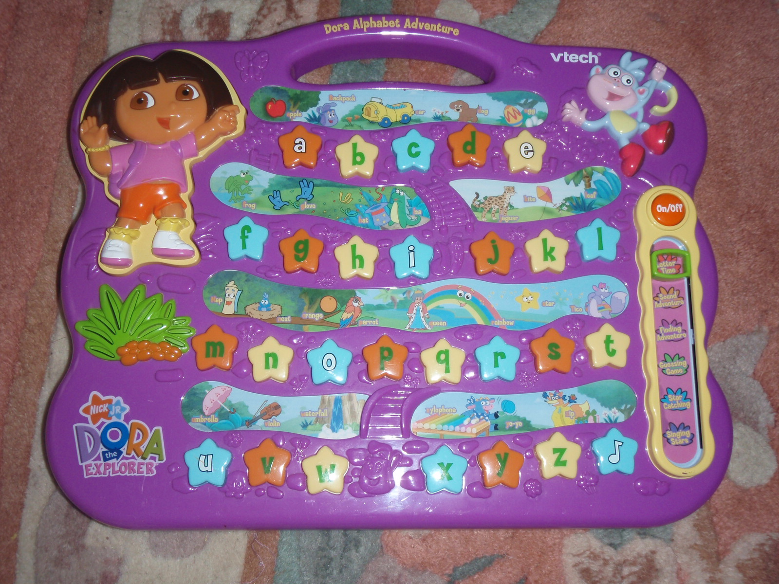 My Baby World Dora Alphabet Adventure By Vtech