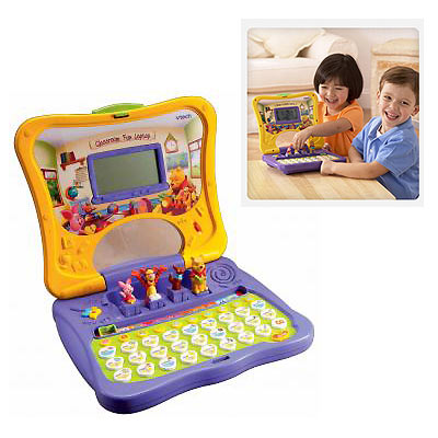 My Baby World Vtech Winnie The Pooh Press N Play Laptop