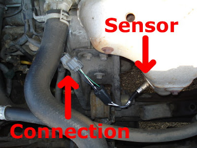Rear Sensor In The Catalytic Converter