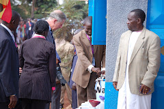 Prince Charles Launching a Water Project in the Slums of Bwaise November 2007
