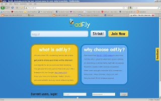 Mendapatkan Dolar dengan adf.ly