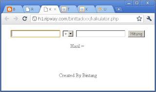 Membuat Program Kalkulator Dengan PHP