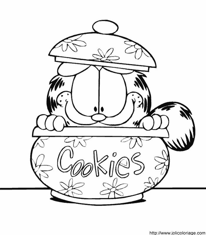 Colorindo E Desenhando: Garfield Para Colorir