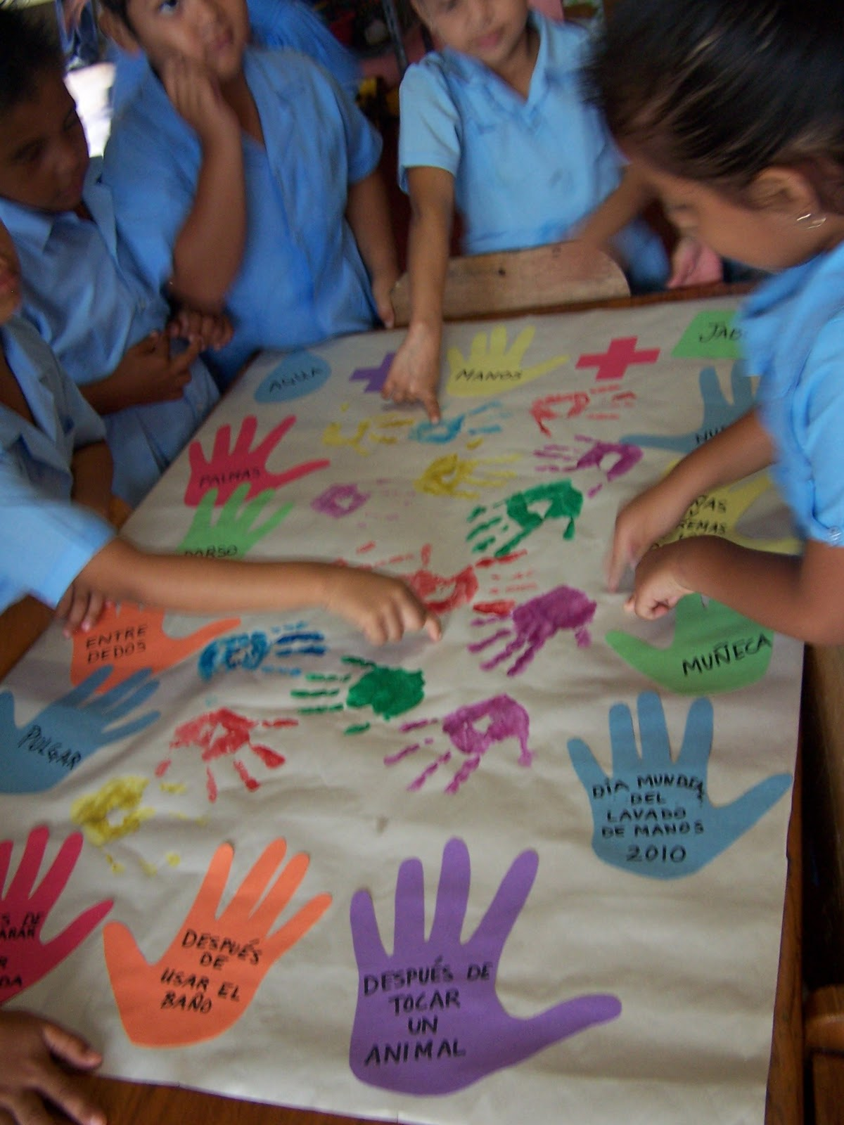 A Whole New Adventure Global Handwashing Day