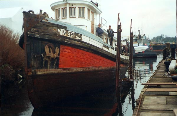 Tugboat Iver: Specs and a little history.