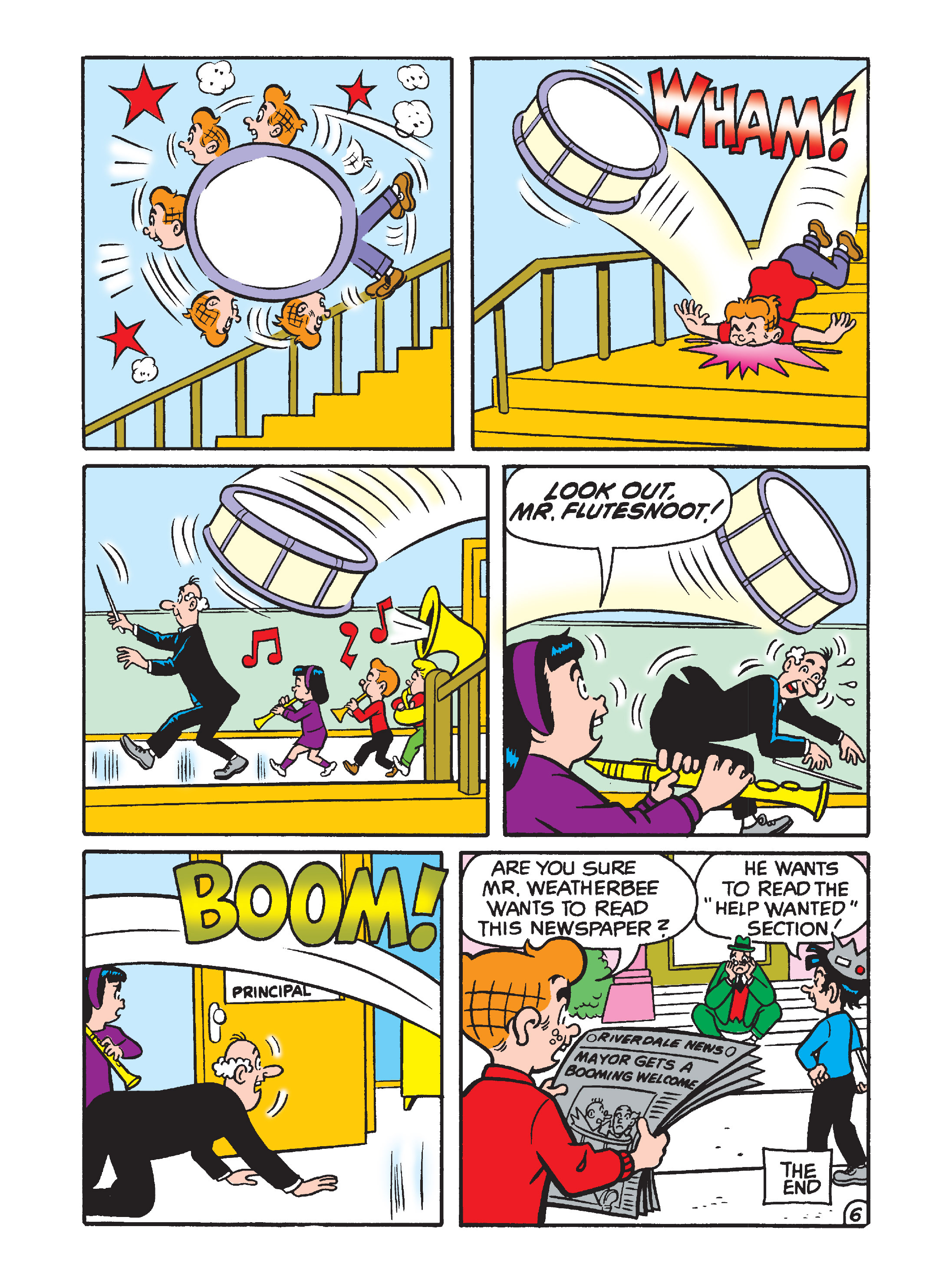 Read online Archie's Funhouse Double Digest comic -  Issue #1 - 131