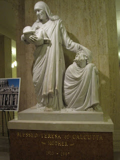 Statue of Blessed Teresa of Calcutta