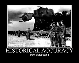 Historical inaccuracies