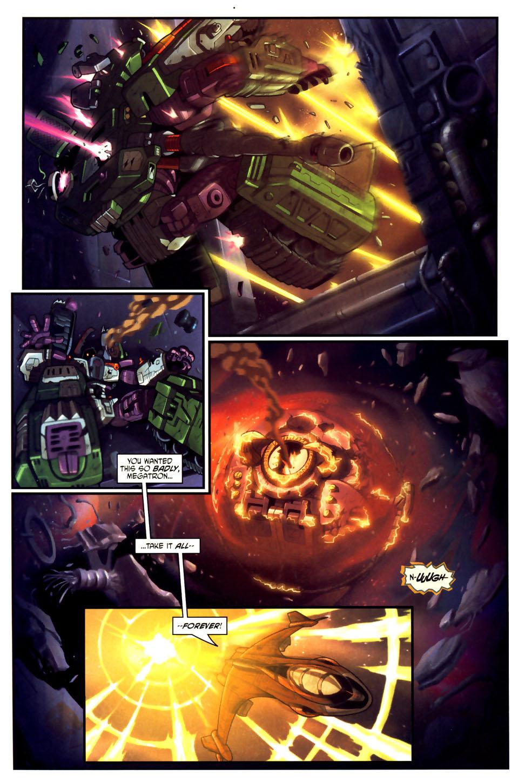 Read online Transformers Armada comic -  Issue #18 - 22