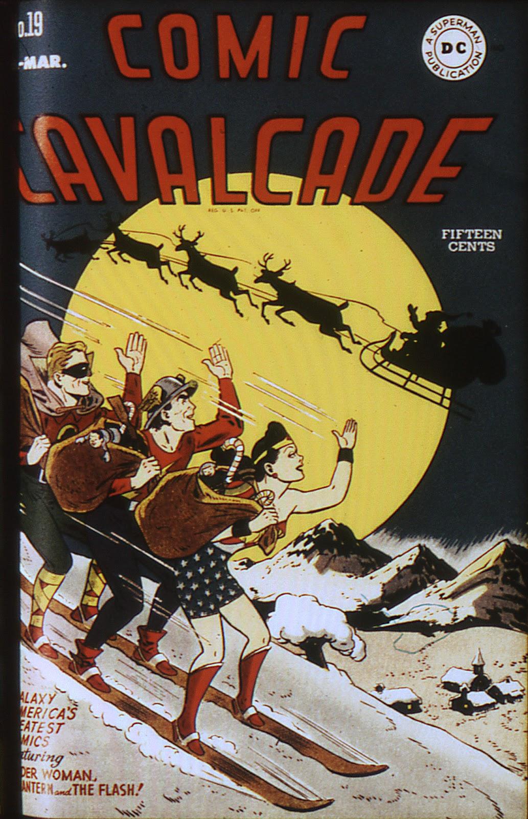 Comic Cavalcade issue 19 - Page 1