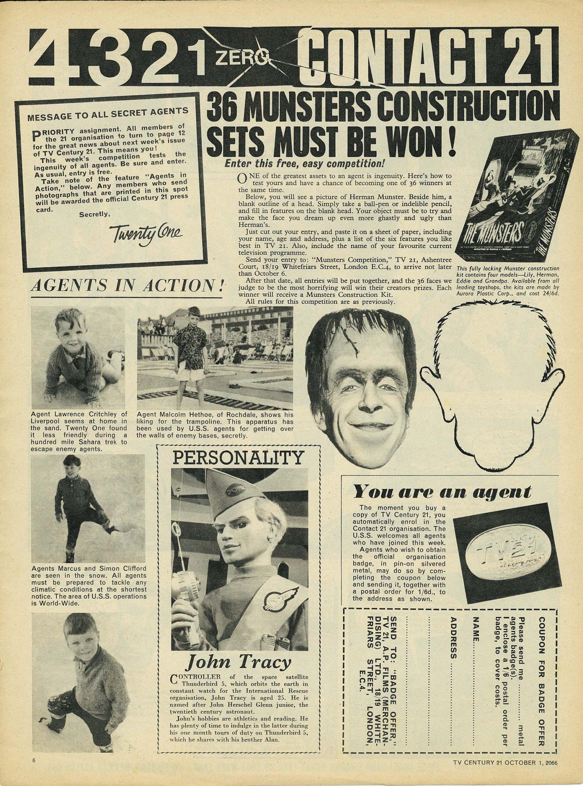 Read online TV Century 21 (TV 21) comic -  Issue #89 - 6