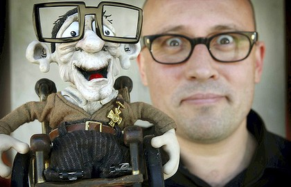 Puppets Clay Stop Motion Blog Trailers Stop Motion Mary And Max 2009