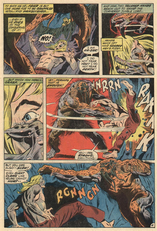 Read online Astonishing Tales (1970) comic -  Issue #13 - 5