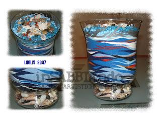 inSABBIAndo: Sand Art: vasi, bottiglie e bicchieri