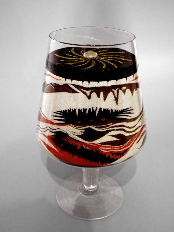 inSABBIAndo: Sand Art: vasi e bicchieri decorati con