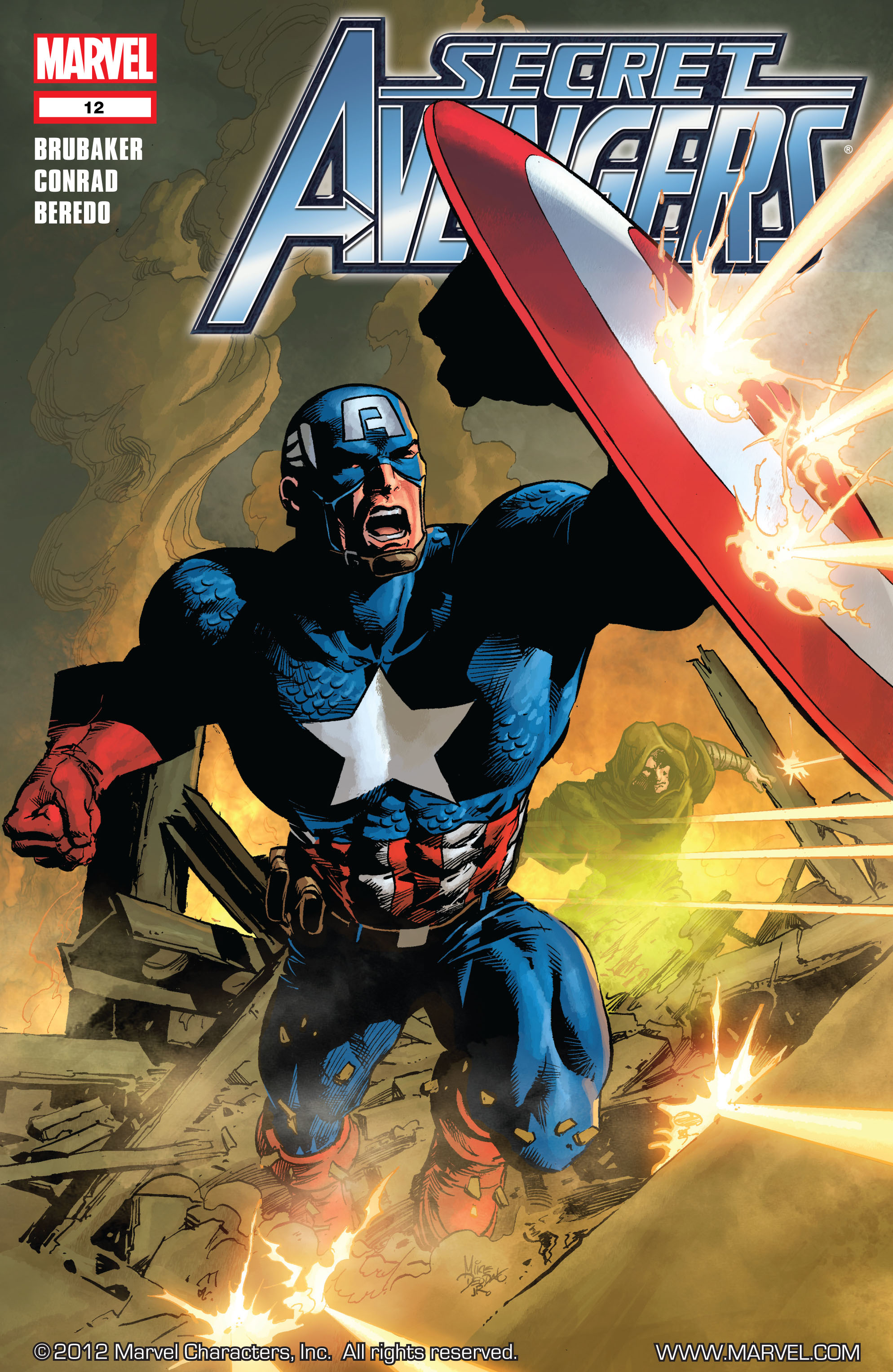 Read online Secret Avengers (2010) comic -  Issue #12 - 1