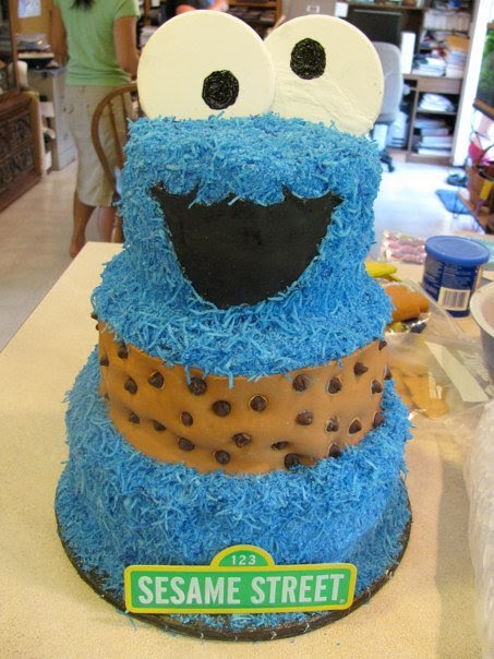 A Dollar For A Design Cookie Monster Themed Birthday Party