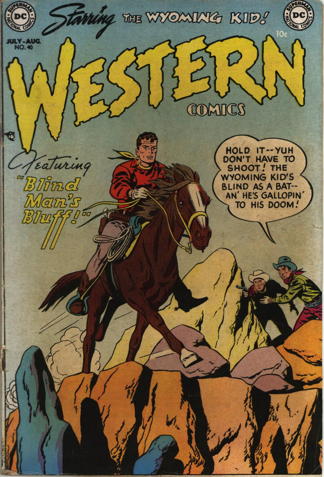 Western Comics issue 40 - Page 1