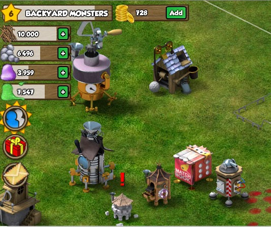 Michelle's Facebook Games Cheats: Backyard Monsters ...