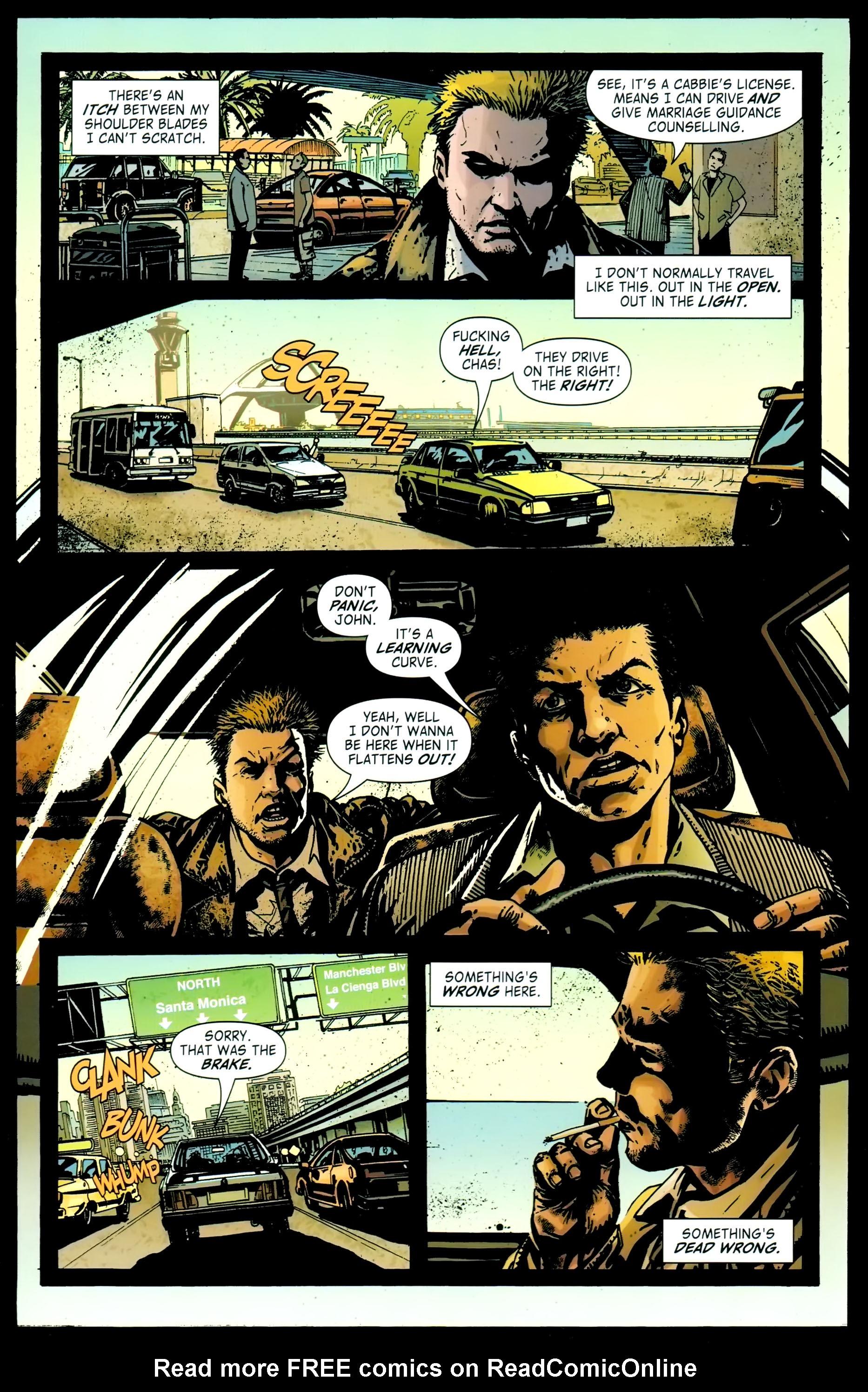 Read online John Constantine Hellblazer: All His Engines comic -  Issue # Full - 34