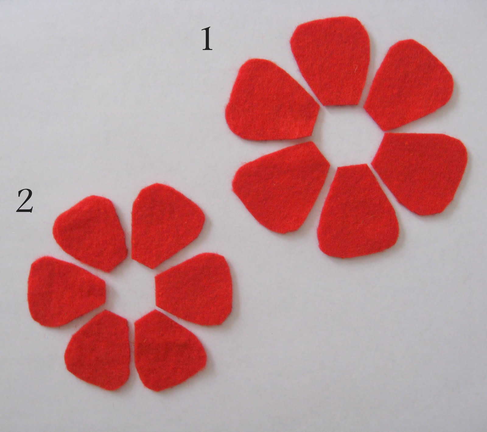 Tutorial: Felt Flowers - Jenna Burger