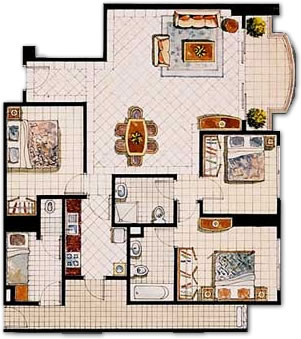 Apartment Floor Plans In India