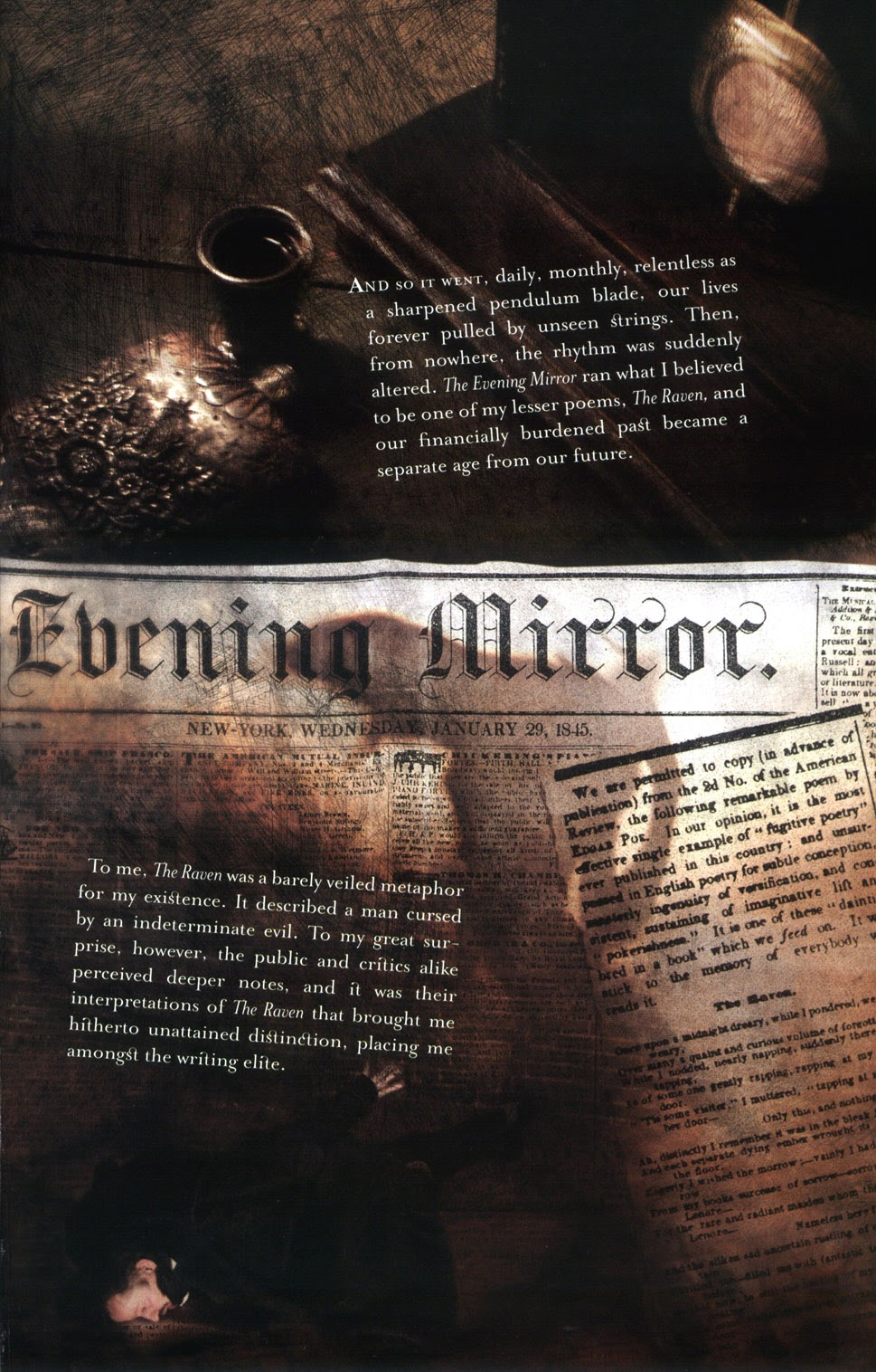 Read online In the Shadow of Edgar Allan Poe comic -  Issue # TPB - 71