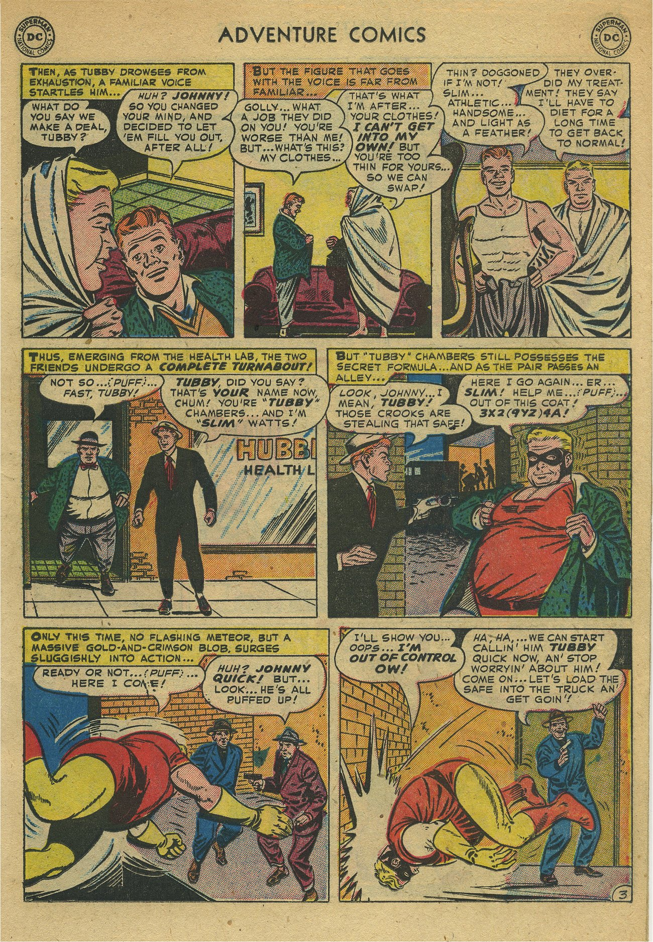 Read online Adventure Comics (1938) comic -  Issue #171 - 17