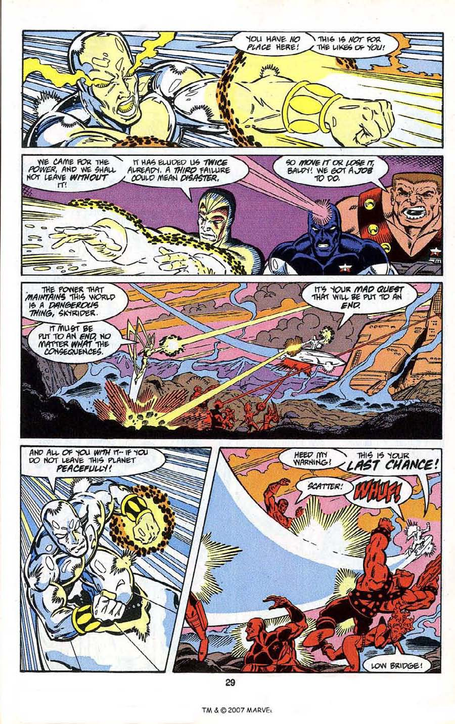 Read online Silver Surfer (1987) comic -  Issue # _Annual 4 - 31