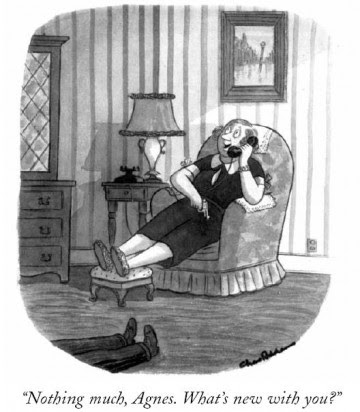Drudge Charles Addams Cartoons