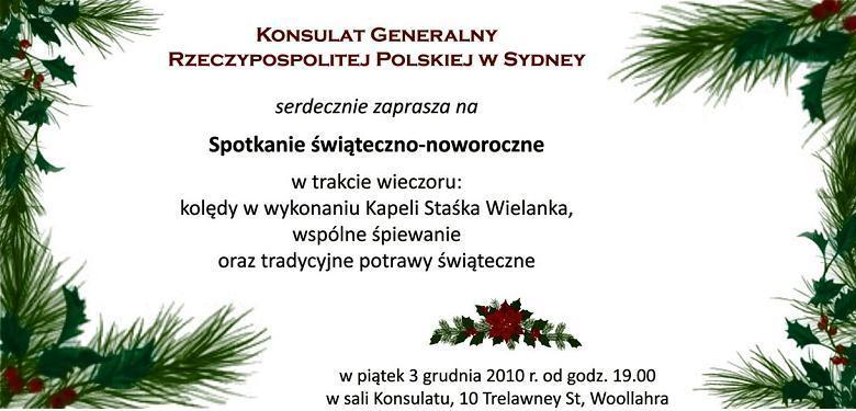 Bumerang Polski Spotkanie świateczno Noworoczne